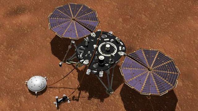Không ngờ trên sao Hỏa cũng xảy ra hàng trăm trận động đất