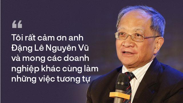 TS Lê Đăng Doanh: 'Tôi đánh giá cao khát vọng phụng sự xã hội của Đặng Lê Nguyên Vũ'