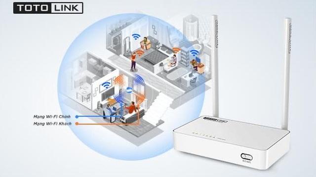 Router Wi-Fi TOTOLINK N350RT - Router giá rẻ phù hợp với nhu cầu sử dụng của mọi người