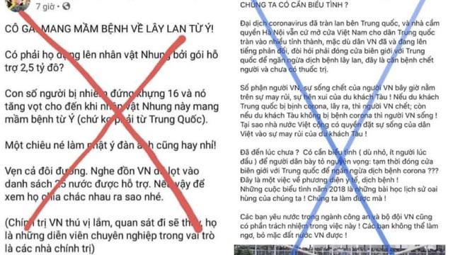 654 trường hợp tung tin sai sự thật về dịch Covid-19