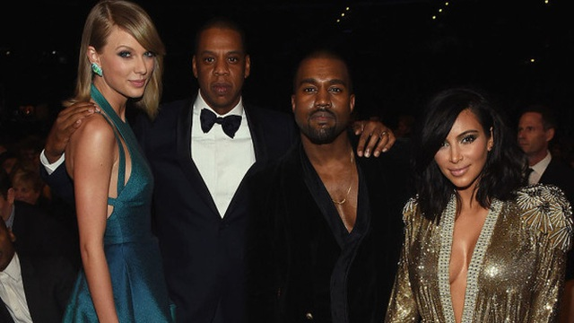 """Lộ bằng chứng Taylor Swift bị vợ chồng Kim """"siêu vòng ba"""" hãm hại"""