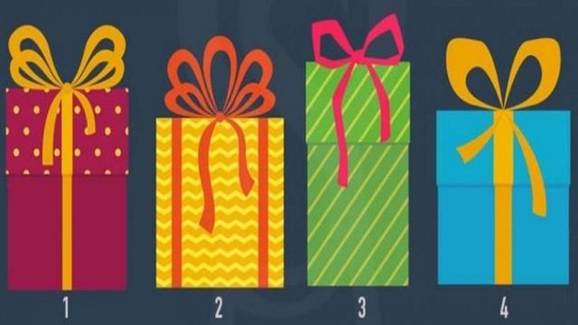 Chọn 1 hộp quà để biết ngay tính cách của bạn: Kiên nhẫn, lạc quan hay chân thật
