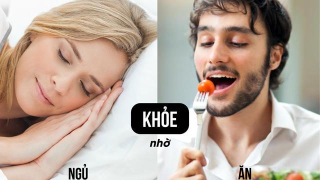 Bí mật từ lời khuyên dưỡng sinh nổi tiếng: Nam muốn khỏe thì ăn, nữ muốn khỏe thì ngủ