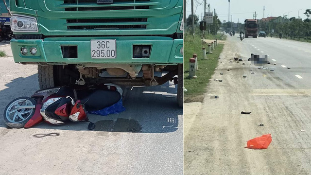 Xe tải kéo lê khiến mẹ và con trai 10 tuổi tử vong thương tâm