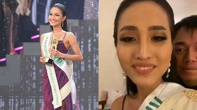 """Hoài Sa bật khóc khi bị loại khỏi top 6 Hoa hậu chuyển giới: """"Ban tổ chức có lựa chọn của riêng họ"""""""