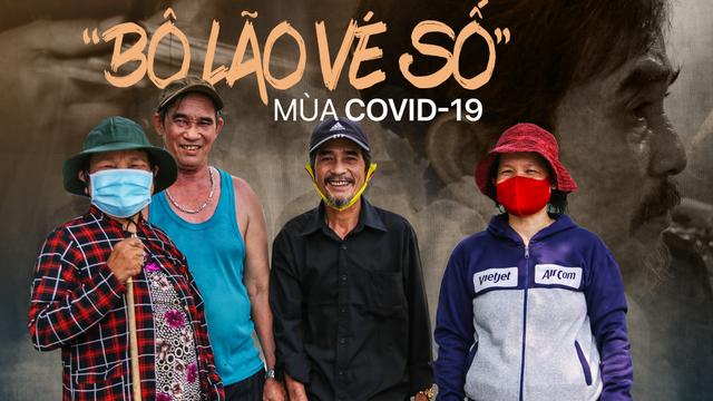 'Bô lão vé số' mùa Covid-19: 'Ba má ở Sài Gòn tiền lớn không có, chứ cơm rau người ta cho có thể sống qua ngày'