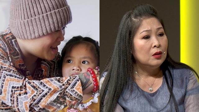 Cô gái bị máu trắng, bán hết tài sản chăm sóc con nuôi mắc ung thư khiến NSND Hồng Vân xúc động