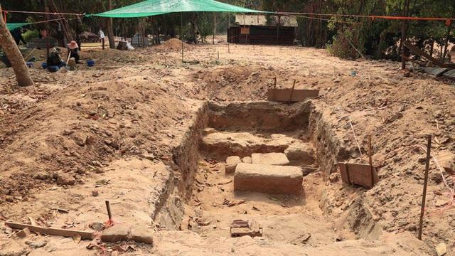 Campuchia phát hiện phế tích Cổ tự Phật giáo trong quần thể Angkor Wat