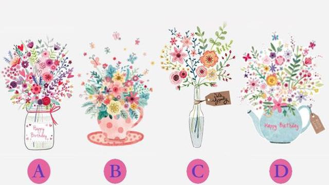Chọn một bình hoa yêu thích để đo mức độ thu hút của bạn với mọi người xung quanh