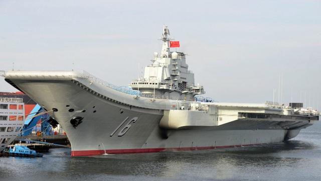 Tàu sân bay Trung Quốc lại đi qua vùng biển Nhật Bản