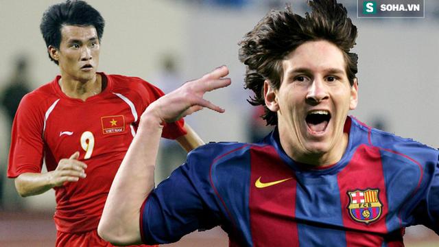 Vắng Messi, dàn sao trẻ Barca gục ngã trước Việt Nam bởi bước chạy thần tốc của Công Vinh