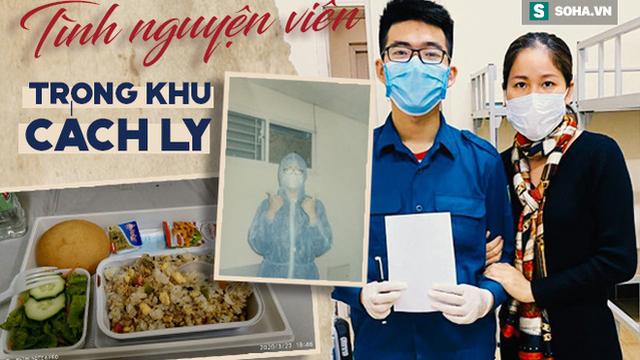 Bưng cơm, dọn rác và câu chuyện xúc động của chàng trai trong những ngày làm tình nguyện ở khu cách ly