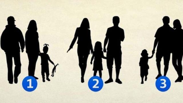 Chọn ngay 1 hình để biết gia đình bạn thế nào: Hạnh phúc, tẻ nhạt hay chia sẻ yêu thương
