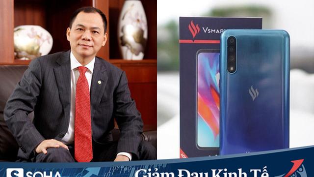 Tăng trưởng 2 con số, Vsmart lọt Top 3 thị phần smartphone tại Việt Nam