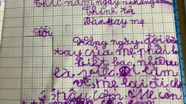 """Nam sinh khai bút sau kì nghì dài khiến cô giáo """"tụt huyết áp"""" nhắn tin gấp cho phụ huynh"""