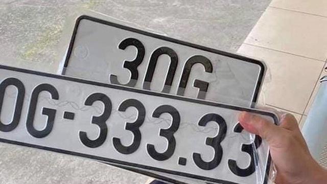 Bốc trúng biển số 'ngũ quý 3', chủ xe Vios được chào mua lại với giá 3,3 tỷ ngay khi vừa đăng ảnh khoe