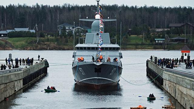 Hạm đội Baltic của Nga sắp nhận loạt tàu hộ vệ tên lửa cực nguy hiểm