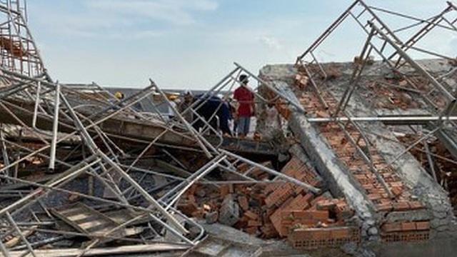 Khởi tố vụ sập tường khiến 10 người tử vong ở tỉnh Đồng Nai