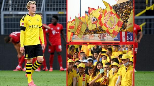 """Gục ngã trước Bayern vì mất """"vũ khí tối thượng"""", Dortmund có ước được như... Nam Định?"""
