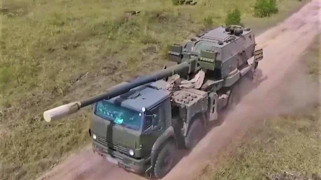 Nga thử nghiệm pháo tự hành Koalitsiya-SV phiên bản mới