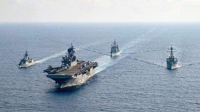 Cựu Đô đốc Mỹ: Không thể làm ngơ trước sự gây hấn của Trung Quốc ở biển Đông