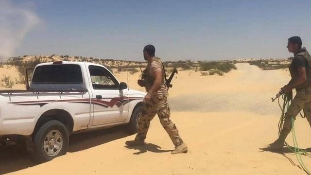 Ai Cập tiêu diệt 19 phần tử khủng bố ở Sinai