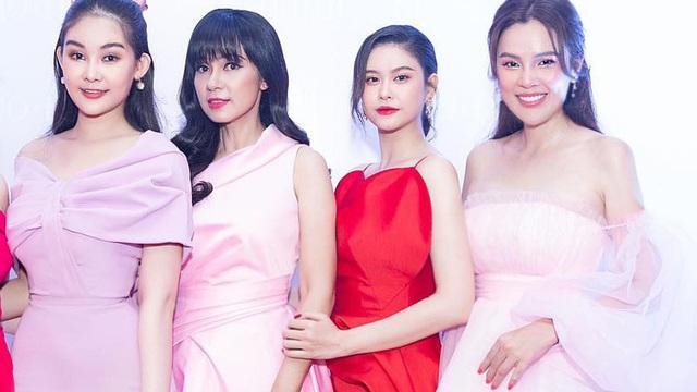 Lê Âu Ngân Anh ngưỡng mộ nhan sắc Phương Lê, Việt Trinh