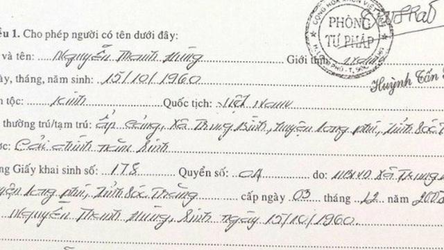 Sóc Trăng lên tiếng việc bí thư huyện điều chỉnh năm sinh giảm 4 tuổi