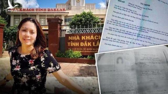 Cảnh cáo chồng của nữ trưởng phòng đánh tráo nhân thân ở Tỉnh ủy Đắk Lắk