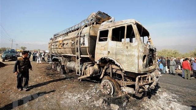 Afghanistan: Đoàn xe chở binh lính Mỹ bị trúng mìn của Taliban