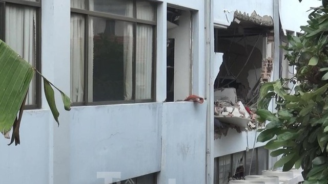 Chi hơn 90 tỷ đồng xây lại trụ sở Cục thuế bị đánh bom khủng bố