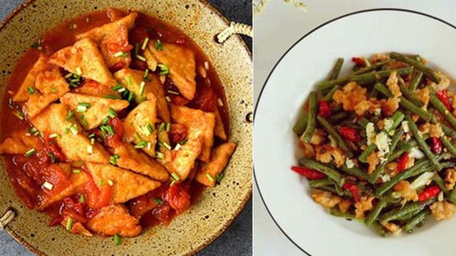 Thực đơn hai món làm nhanh cho bữa cơm ngày bận rộn vẫn đủ chất, ngon miệng