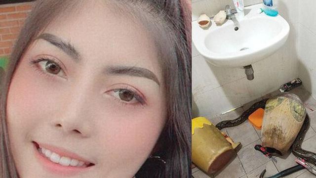 Bước vào nhà vệ sinh, người phụ nữ hốt hoảng phát hiện 'bé Na' đang nằm cuộn tròn chờ mình để tấn công