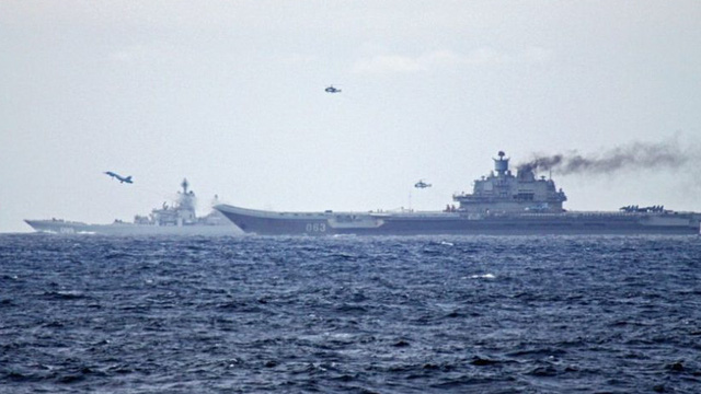 Hải quân Syria và Nga tổ chức tập trận ở Đông Địa Trung Hải