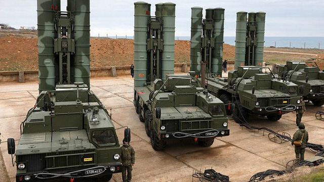 Thổ Nhĩ Kỳ tiếp nhận hơn 120 tên lửa cho các hệ thống S-400