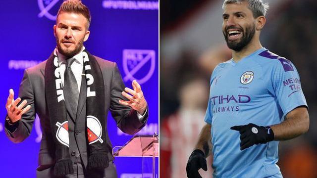 """Beckham """"rút ruột"""" Man City, đưa Aguero và Silva sang Mỹ"""