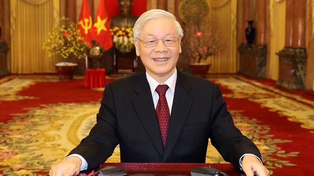 Tổng Bí thư, Chủ tịch nước Nguyễn Phú Trọng chúc Tết đồng bào, đồng chí và chiến sĩ cả nước