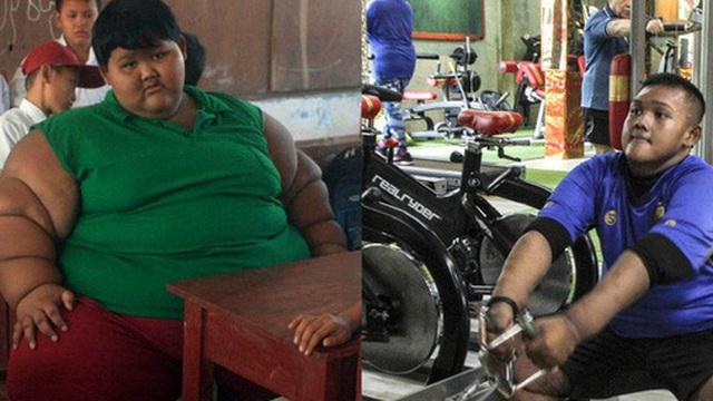 'Cậu bé nặng nhất thế giới' với gần 200 kg sau 4 năm phẫu thuật thu nhỏ dạ dày giờ 'lột xác' không ai nhận ra