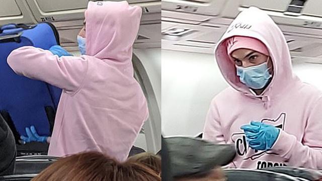 Máy bay quay đầu vì nam hành khách tuyên bố 'bị nhiễm virus corona'