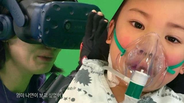 Nhờ công nghệ thực tế ảo, mẹ gặp lại con gái nhỏ qua đời vì bệnh máu trắng và màn tái ngộ khiến ai cũng rơi lệ