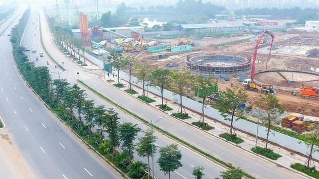 Hà Nội có thêm con đường nghìn tỷ 10 làn xe
