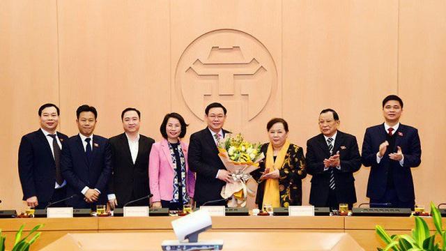 Bí thư Thành ủy Vương Đình Huệ được bầu làm Trưởng đoàn Đại biểu Quốc hội thành phố Hà Nội