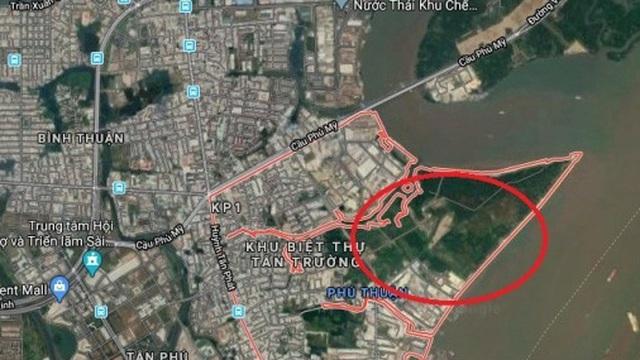 TP.HCM: Điều chỉnh quy hoạch một khu dân cư tại Quận 7
