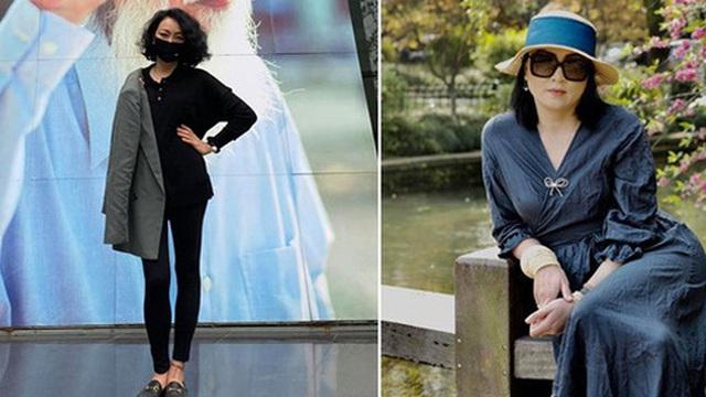 Hot mom U50 Văn Thùy Dương lộ diện sau sinh 3 tháng với vóc dáng gầy đến khó tin