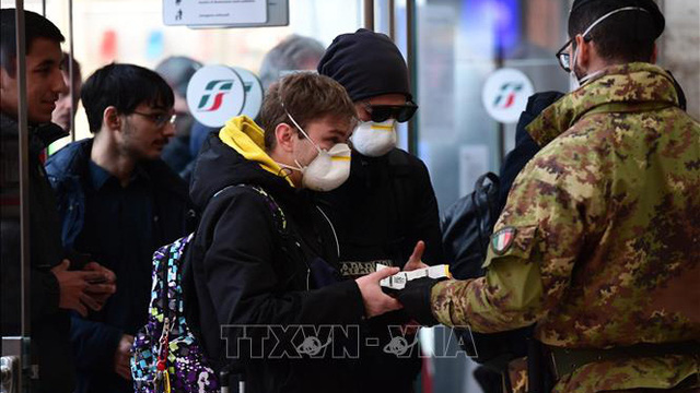 Italy đã có 10.149 trường hợp nhiễm SARS-CoV-2