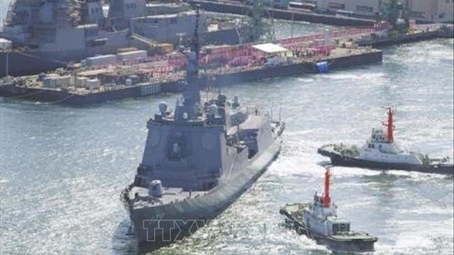Nhật Bản có thêm tàu khu trục trang bị hệ thống phòng thủ tên lửa Aegis