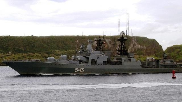 Hải quân Nga nỗ lực biến tàu khu trục cũ thành tàu chiến tàng hình