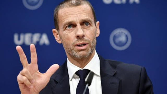 Chủ tịch UEFA để ngỏ khả năng hủy mùa giải 2019 - 2020 vì dịch COVID-19