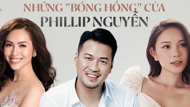 Những bóng hồng đi qua cuộc đời Phillip Nguyễn: Toàn mỹ nhân 'có số má', riêng Linh Rin được cưng nhất