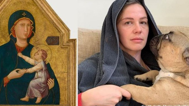 Ở nhà tránh Covid-19, dân mạng thi nhau sử dụng đồ dùng gia đình để bắt chước theo những tác phẩm nghệ thuật nổi tiếng thế giới